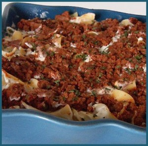 Amish Ground Beef and Noodle Casserole Recipe momspark.net