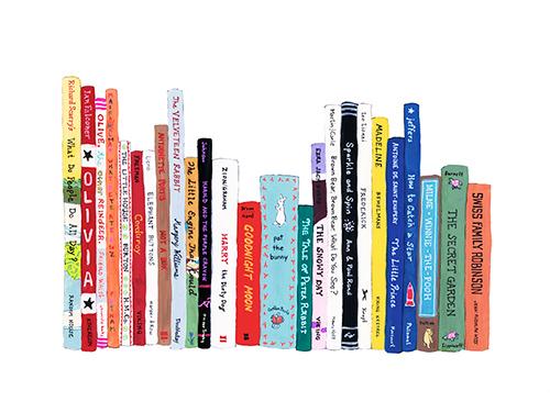 Ideal Bookshelf print