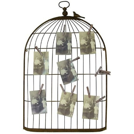 bird cage picture frame