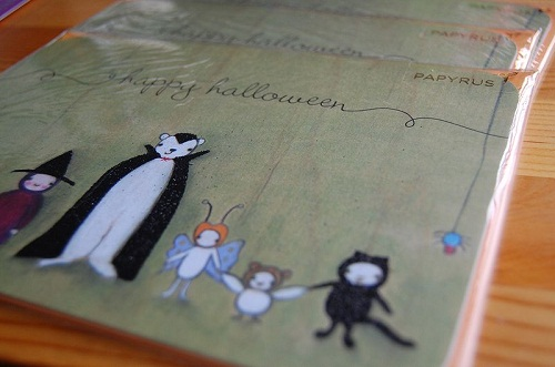 happy Halloween greeting cards DIY