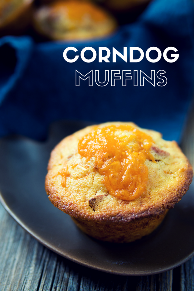 Corndog Muffin Recipe - Looking for a new twist on classic kids cuisine? Try out these kid-approved Corndog Muffins. Utilizing cornbread mix makes them perfect for a mom on the go!