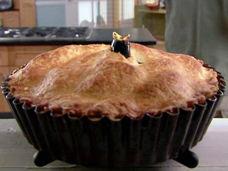 Alton Brown's Super Apple Pie via Food Network