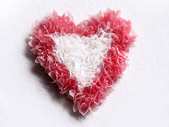 Puffy Heart Paper Craft Valentine's Day