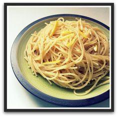 Easy Lemon Parmesan Spaghetti