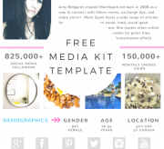 BLOGGING 101: How to Create a Media Kit & One SheetHow to Create a Media Kit & One Sheet