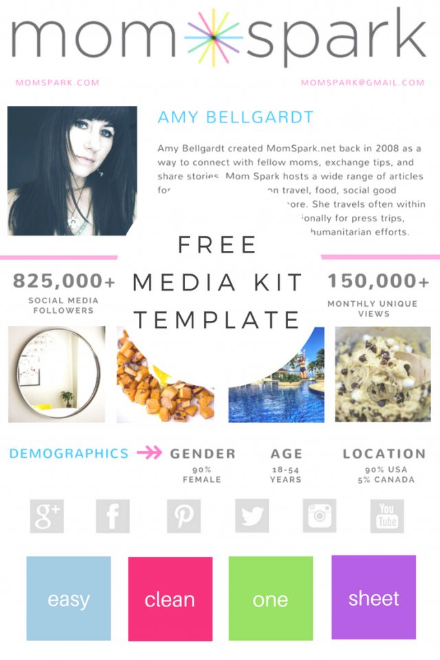 BLOGGING 101: How to Create a Media Kit & One Sheet