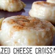 glazed cheese croissants recipe momspark.net | Mom Spark ...