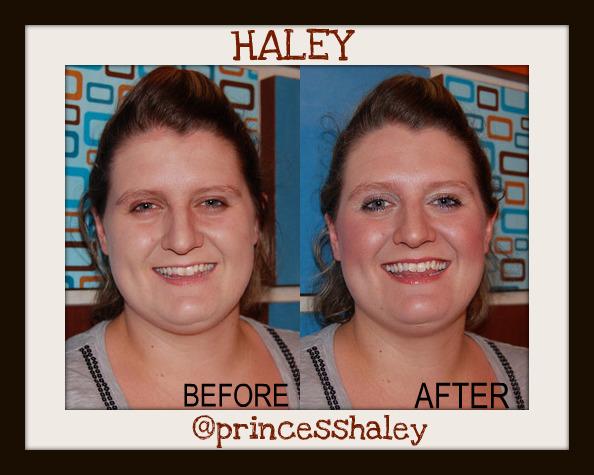 haley shivers e.l.f. makeup party