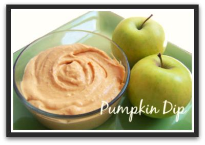Easy Light Pumpkin Dip Recipe