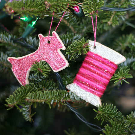 Salt Dough Ornaments DIY Craft Christmas