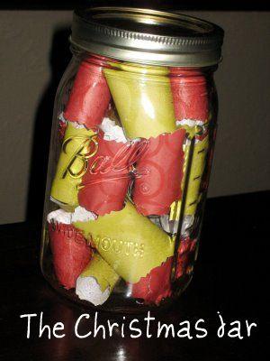 How to Create a Christmas Memory Jar