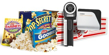 Pop Secret Twitter Party Celebrity Swag prizes