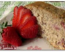 Strawberry Banana Bread