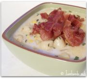 Scallop and Bacon Corn Chowder
