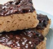 Chocolate Peanut Butter Rice Kriispie Treats