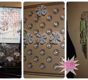 Omnii Square Board Jewelry Organizer