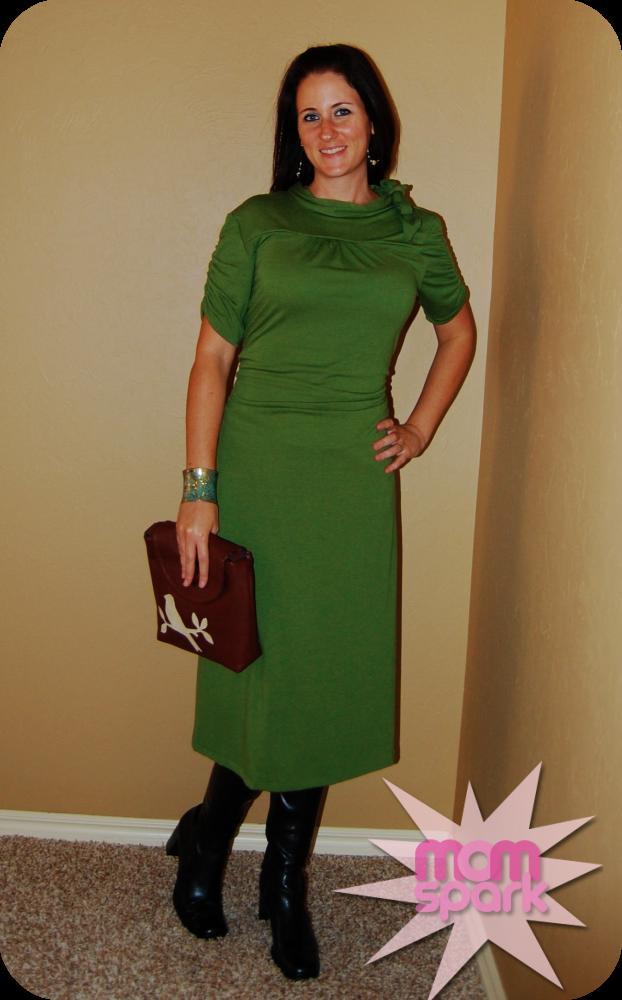Shabby Apple Green Nine to Five momspark.net