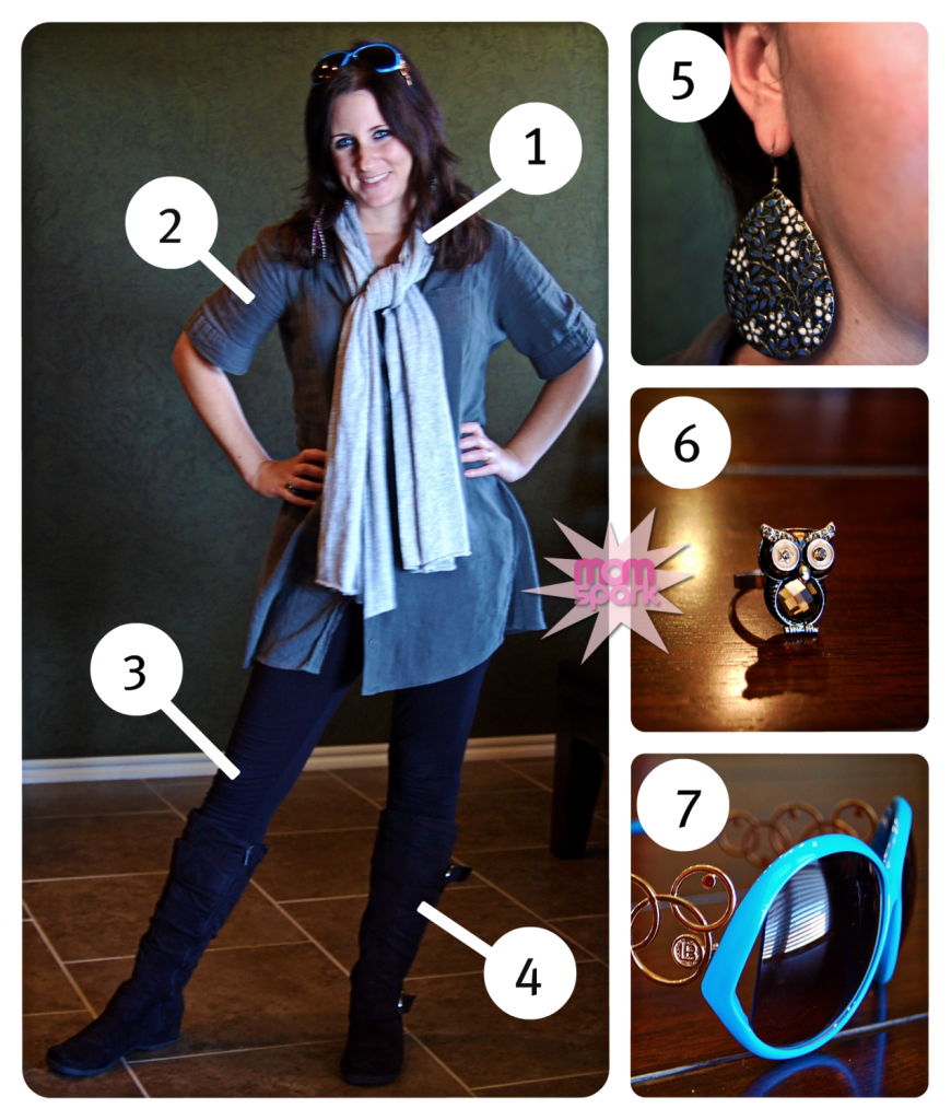 Cheaply Chic Mom on the Go - Affordable Fashion MomSpark.net