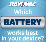 Rayovac Battery Types