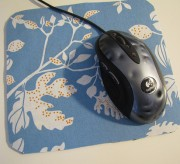 mouse pad makeover