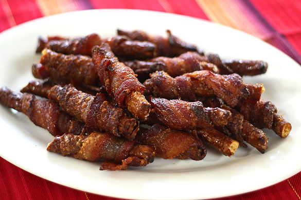 Bacon Wrapped Pretzels Recipe