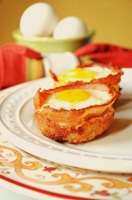 Bacon and Egg Cup Recipe