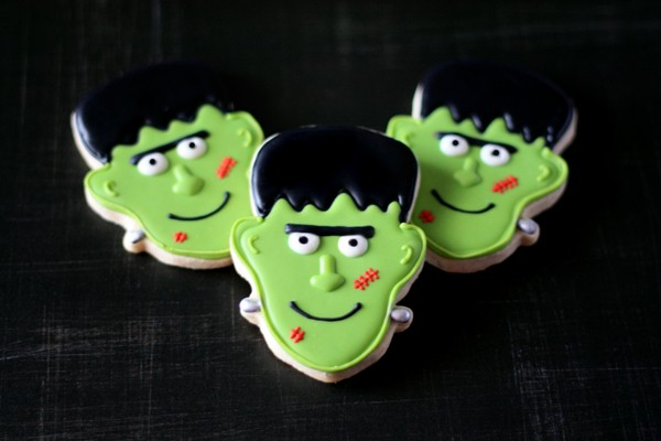 Halloween Frankenstein Cookie Recipe