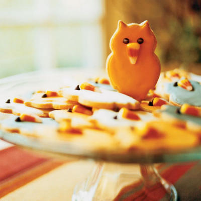 Halloween Owl Cookie recipe