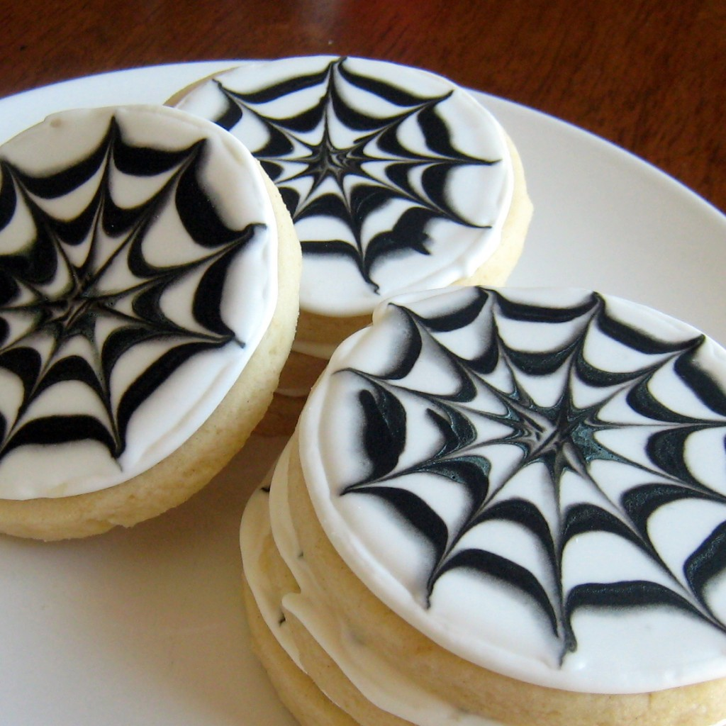 Halloween Spider Web Sugar Cookie Recipe