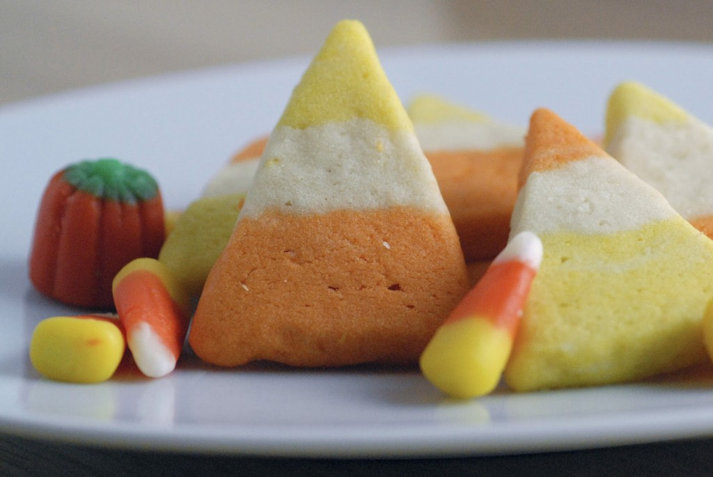 Halloween Candy Corn Cookie Recipe