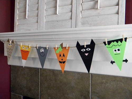 Halloween Spook Banner DIY