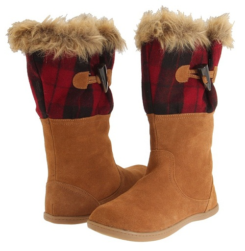 furry winter women's boots fashion