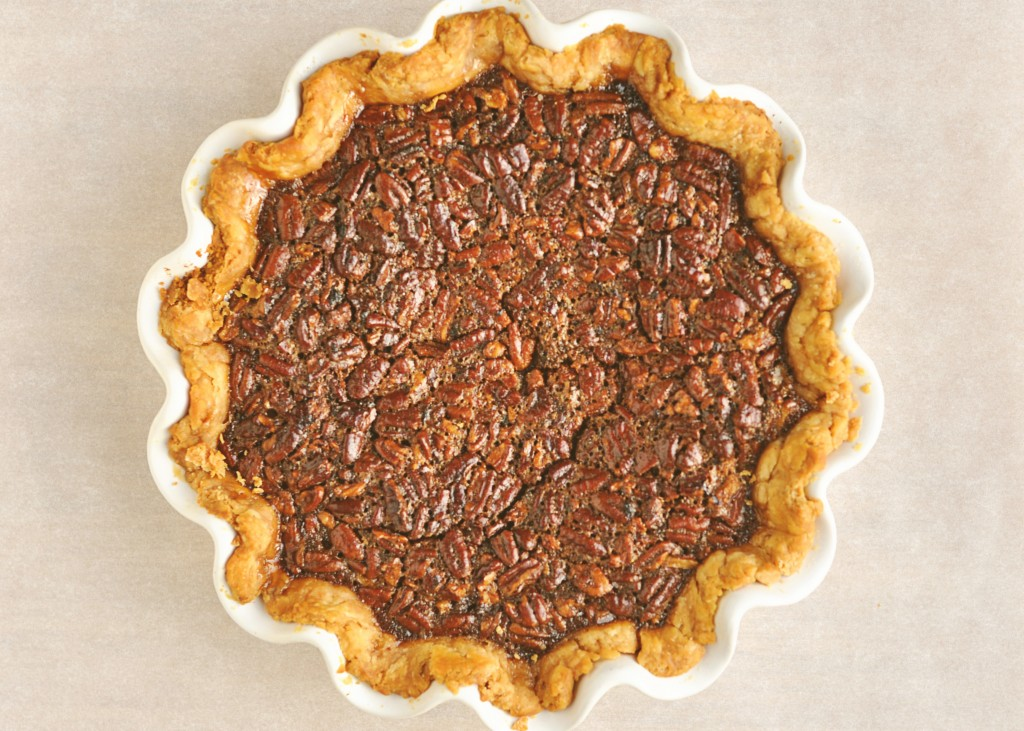 Maple Bourbon Pecan Pie Recipe