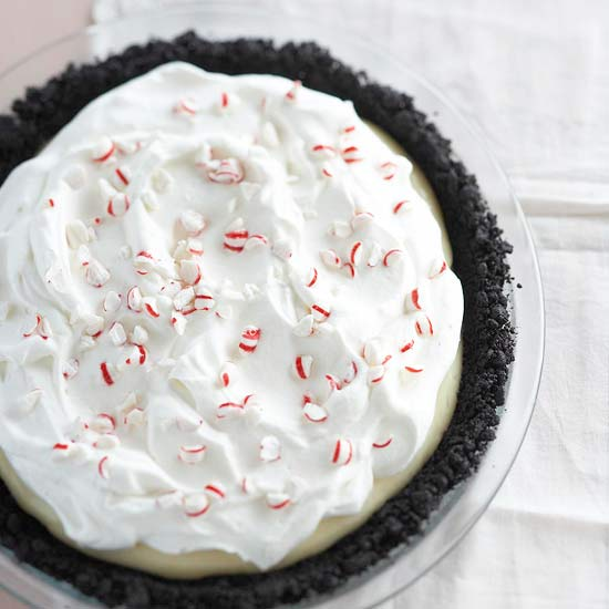 Peppermint and White Chocolate Cream Pie Recipe
