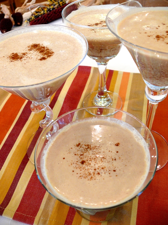 Pumpkin Pie Martinis Recipe