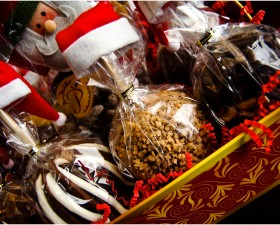 Mrs. Prindables Santa Basket