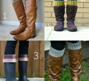 boot cuff style winter fashion