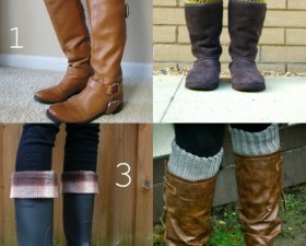 boot cuff style winter fashion