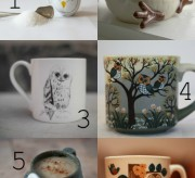 cool finds trendy owl mugs