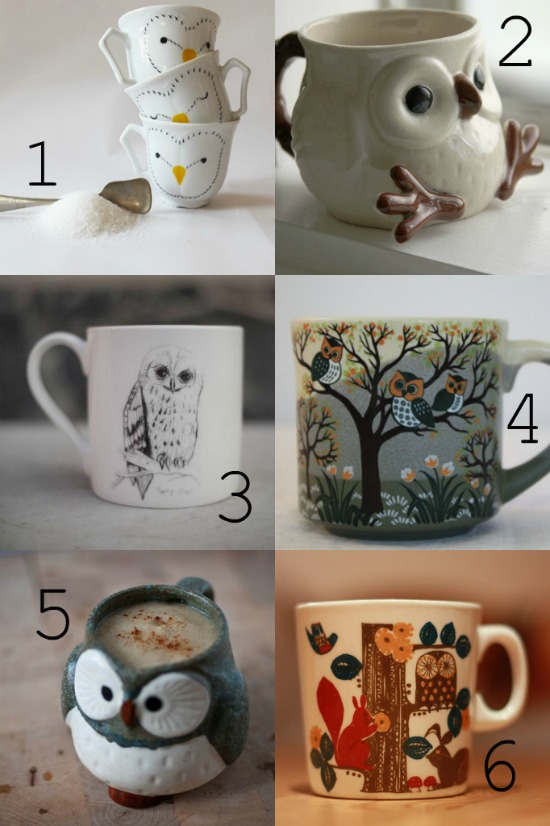 cool owl mugs