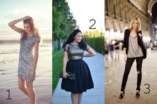 new year's eve fashion glitter glam women's