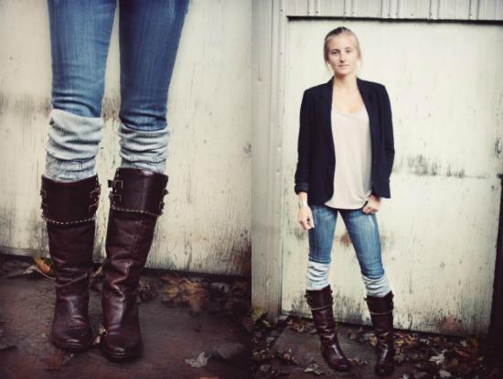 Boot Cuff Fashion Women's