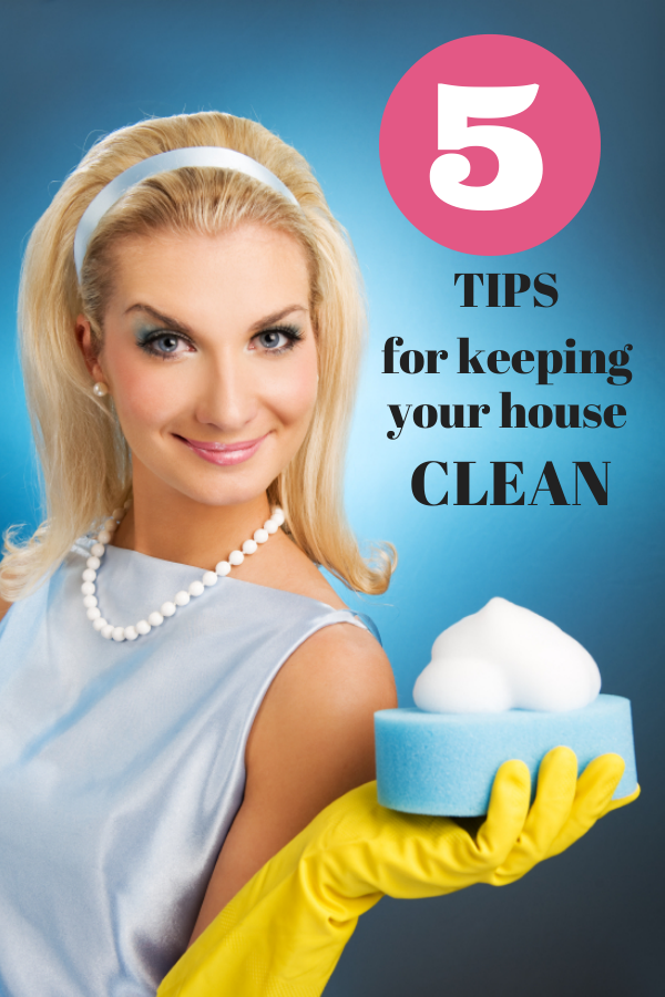 Five Easy Tips For Keeping Your House Somewhat Clean Mom Spark Mom Blogger