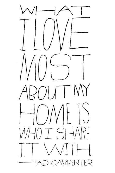 quotes about home and love - photo #7