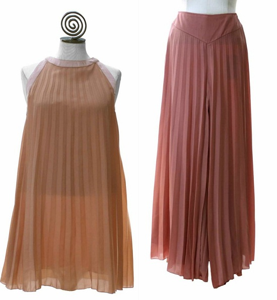 Pleats & Pastels Dresses, Skirts & Blouses Fashion