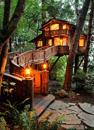 Amazing treehouse
