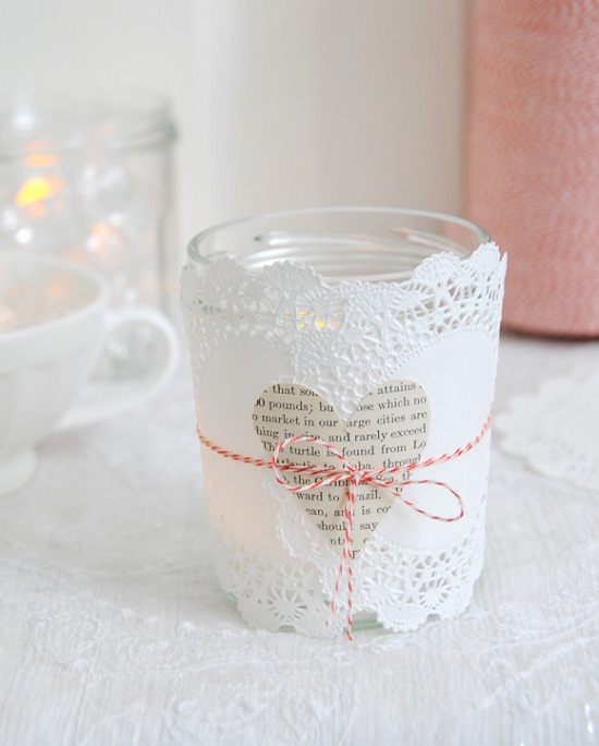 Valentine's Day DIY Candle