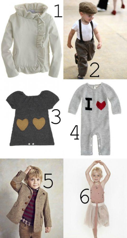 Kid Valentine Style Fashion