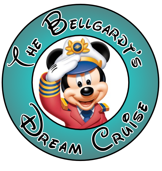 Bellgardts Dream Cruise Walt Disney World Custom Magnet momspark.net
