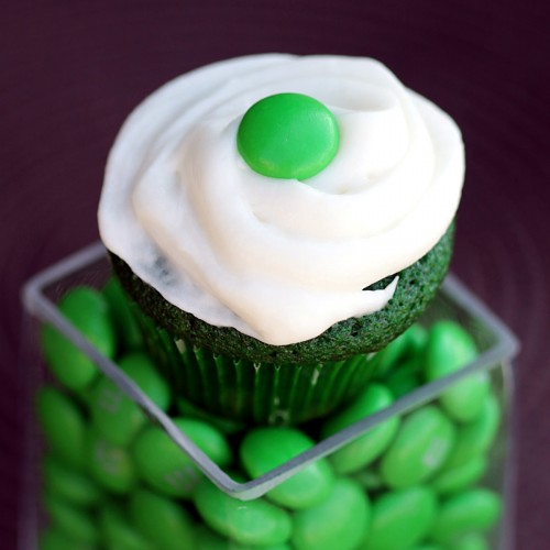 St. Patrick's Day Green Velvet Cupcake Dessert Recipe